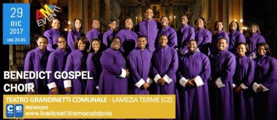 Benedict Gospel Choir al Teatro Grandinetti di Lamezia Terme