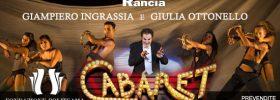"""Giampiero Ingrassia e Giulia Ottonello nel musical """"Cabaret"""" al Politeama Catanzaro"""