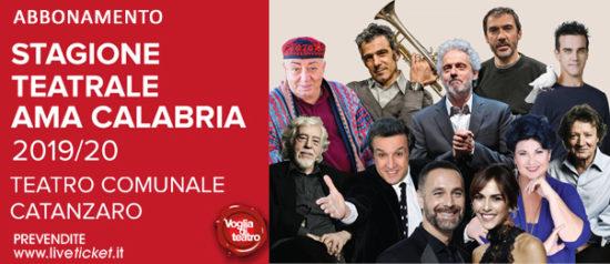 Stagione Teatrale Ama Calabria Catanzaro
