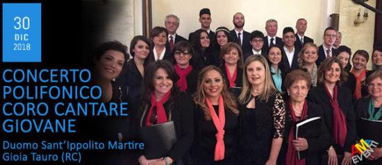 Concerto Polifonico Coro Cantare Giovane al Duomo Sant'Ippolito Martire a Gioia Tauro