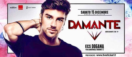 Christmas Festival Andrea Damante al ECS Dogana Club a Catania