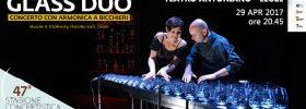 Glass duo al Teatro Antoniano di Lecce