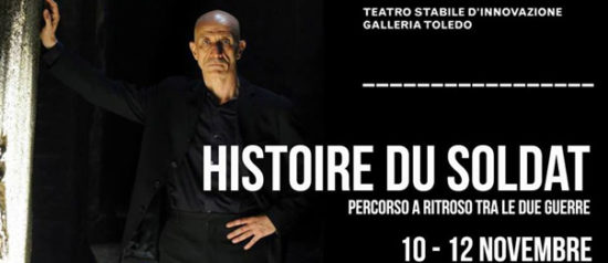 """Peppe Servillo """"Histoire du soldat"""" alla Galleria Toledo di Napoli"""