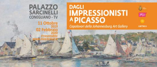 Dagli Impressionisti a Picasso a Palazzo Sarcinelli a Conegliano