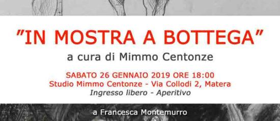 """""""In Mostra a Bottega"""" allo Studio Mimmo Centonze a Matera"""