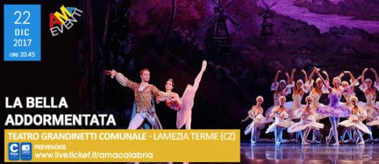 La Bella Addormentata al Teatro Grandinetti di Lamezia Terme