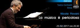 """Nicola Piovani """"La musica è pericolosa"""" al Teatro Garibaldi di Enna"""