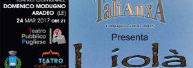 Liolà al Teatro Domenico Modugno di Aradeo