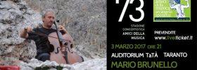 Mario Brunello al Teatro TaTà di Taranto