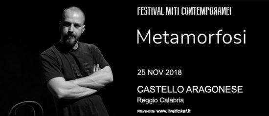 Metamorfosi al Castello Aragonese a Reggio Calabria