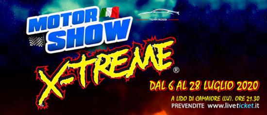 Motor Show X-Treme, Lo spettacolo dei motori a Lido di Camaiore