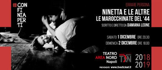 Ninetta e le altre al Teatro Area Nord di Napoli