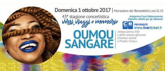 Oumou Sangaré al Monastero Benedettini Ponente a Catania