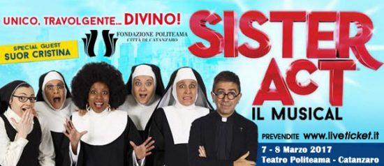 Sister Act il Musical al Teatro Politeama di Catanzaro