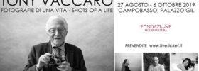 """Tony Vaccaro """"Fotografie di una vita – Shots of a Life"""" al Palazzo ex Gil a Campobasso"""