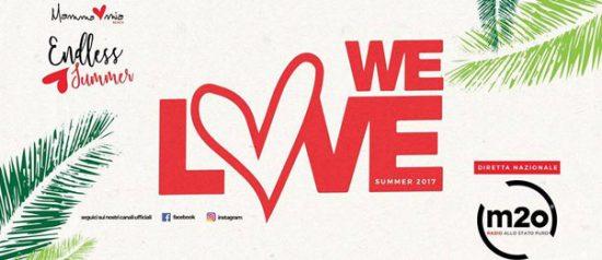 We Love & m2o al Mamma Mia Beach a Santa Teresa di Riva