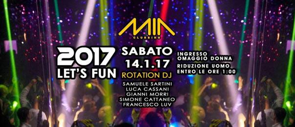 2017 Let's Fun al Mia Clubbing di Porto Recanati