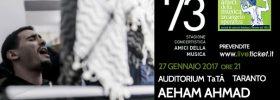 """Aeham Ahmad """"Il pianista di Yarmuk"""" al Teatro TaTà di Taranto"""
