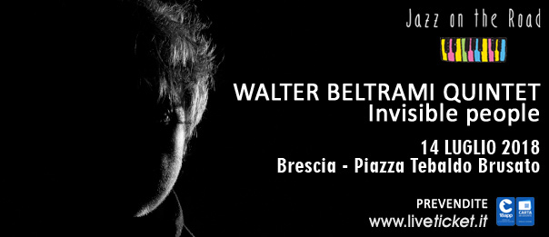 Walter Beltrami Quintet al Festival Jazz on the Road a Brescia