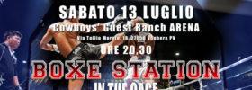 Boxe Sation in the Cage al Cowboys' Guest Ranch Arena di Voghera