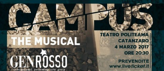 Campus - The Musical al Politeama Catanzaro