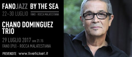 Chano Dominguez Trio al Fano Jazz by the Sea 2017