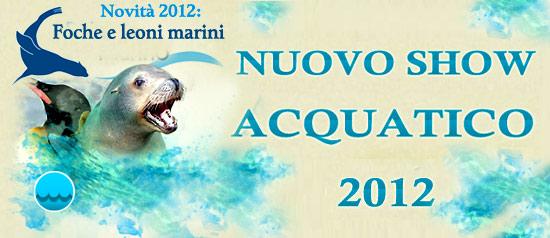 Spettacoli acquatici al Safari Park d'Abruzzo