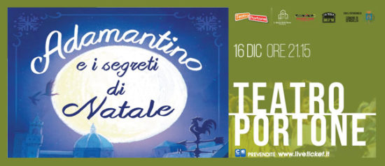 Adamantino e i segreti di Natale al Teatro Portone di Senigallia