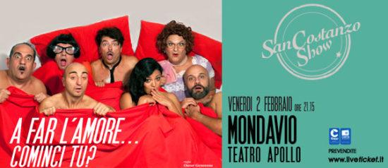 """San Costanzo Show """"A far l'amore...cominci tu?"""" al Teatro Apollo di Mondavio"""