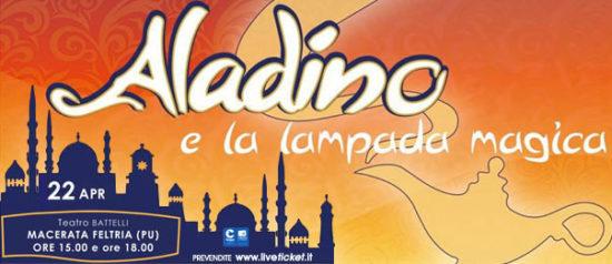 Aladino e la lampada magica al Teatro Battelli di Macerata Feltria