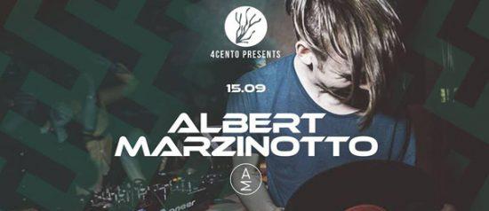 Albert Marzinotto al Ristorante 4cento di Milano