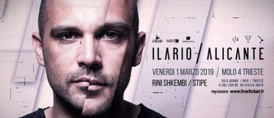 HelpisComing - Ilario Alicante al Molo IV a Trieste