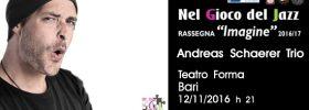 Andreas Schaerer Trio al Teatro Forma di Bari
