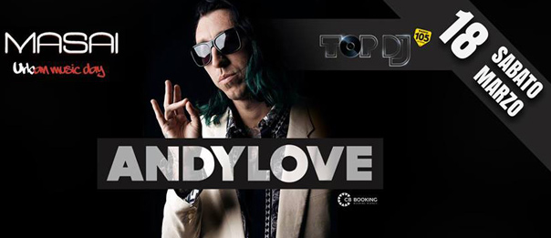 Andy Love al Masai Club Cagli