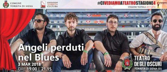 Angeli perduti nel Blues al Teatro degli Oscuri di Torrita di Siena