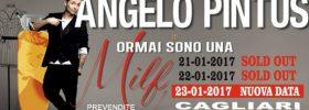 """Angelo Pintus """"Ormai sono una milf"""" a Cagliari"""