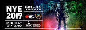Anubi NYE 2019 / Rec / Black Magic Shake al Molo IV a Trieste