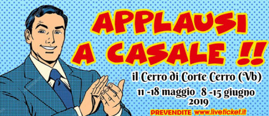 Applausi a Casale