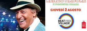 Renzo Arbore e l'orchestra italiana al Beat Village alla Nuova Darsena di Rimini