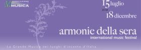 ARMONIE DELLA SERA - La grande musica nei luoghi d'incanto d'Italia a Ponzano di Fermo