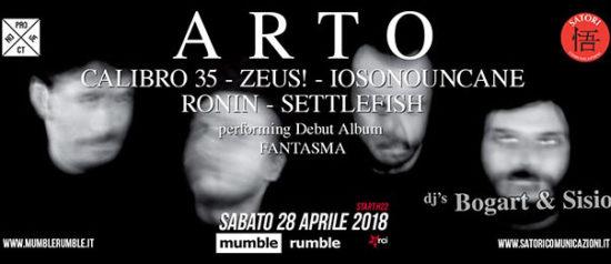 ARTO al Mumble Rumble a Salerno