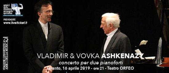 Vladimir & Vovka Ashkenazy al Teatro Orfeo di Taranto