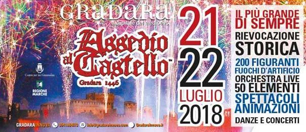 Assedio al Castello di Gradara 2018