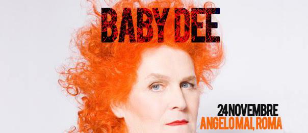 Baby Dee all'Angelo Mai di Roma