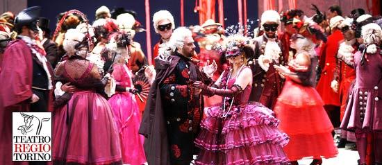 Un ballo in maschera in diretta dal Teatro Regio di Torino