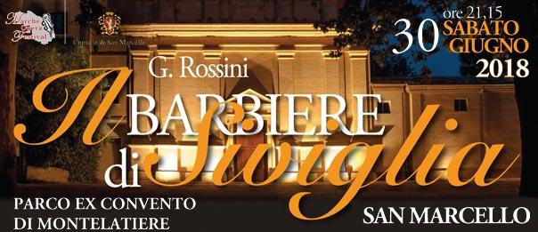 Il Barbiere di Siviglia all'Ex Convento di Montelatiere a San Marcello
