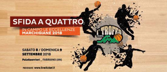 Basket School Fabriano - Trofeo Nuova Sima al Palaguerrieri a Fabriano (An)