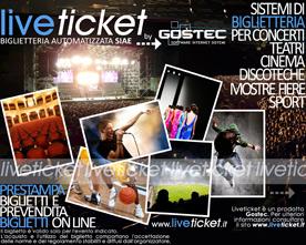 Biglietteria per teatro, concerti, fiera, museo, sport
