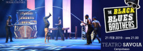 The Black Blues Brothers al Teatro Savoia di Campobasso