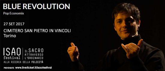 """Isao Festival """"Blue Revolution"""" al Cimitero San Pietro in Vincoli a Torino"""